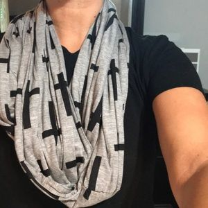Other - Cross Pattern Scarf